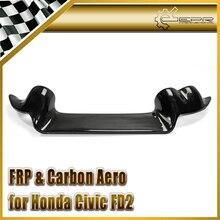 Автомобильный-Стайлинг FRP стекловолокно тире крепление индикатора Pod(RHD) Стекловолокно внутренняя отделка Аксессуары Гоночный Подходит для Honda Civic FD2 BYS