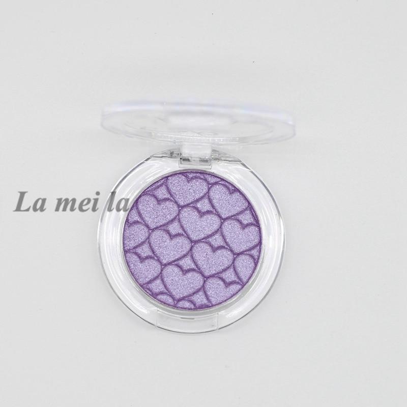 2018 lady must fashion sexy monochrome eyeshadow La Mei La light purple N04