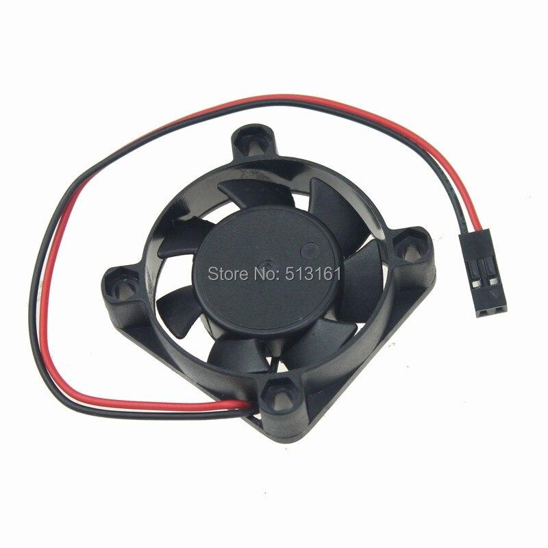 50 pcs/lot Gdstime 40mm 5 V Dupont 2Pin Mini 4 cm DC ventilateur d'échappement de refroidissement sans brosse 40x10mm