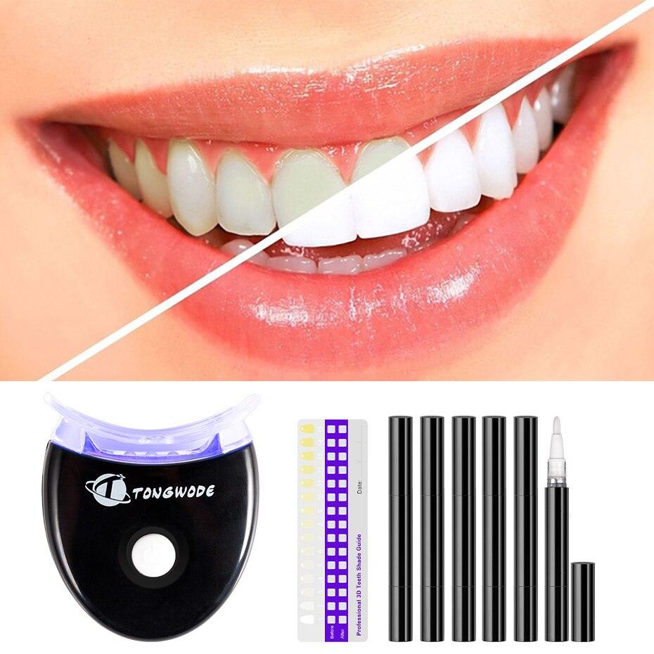 Teeth Whitening Gel Kit Professional Electric Dental Teeth Whiting