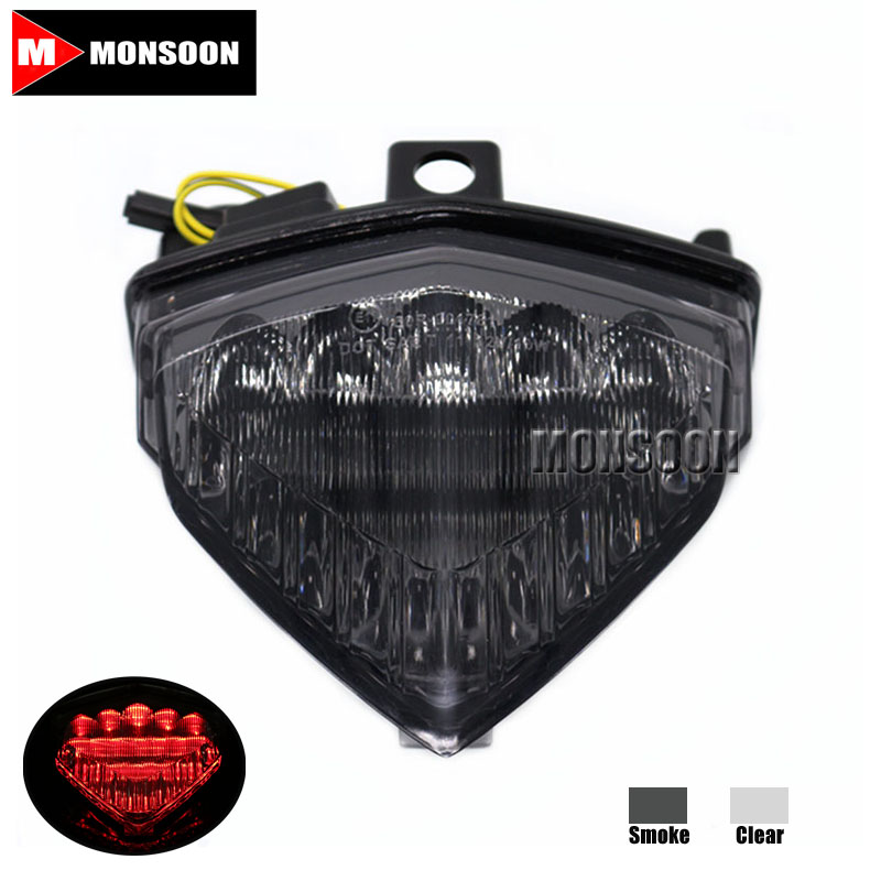 For HONDA CB1000R 2008-2014 CBR600F 12-14 CB 500F 13-14 CBR 500 13-14 CB500X 2014 Motorcycle Integrated LED Tail Light Smoke new motorcycle voltage regulator rectifier for honda cb1000 cb1000r 09 10 11 12 13 14