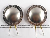 2PCS Diaphragm For Driver Titanium Dome Voice Coil 44 4mm 8 Ohm 1 75inch Round Wire