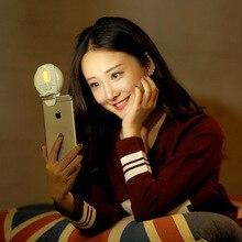 Увлажнитель волшебный глаз заполнить свет iphone selfie светодиодные лампы блестящий мини кожи лица диффузор туман разрядник лица увлажнение