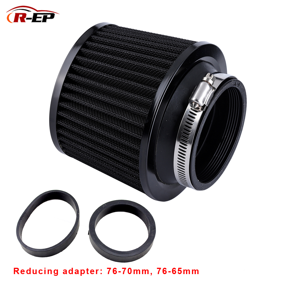 R Ep Universal Air Filter 76mm 70mm 65mm Car Performance