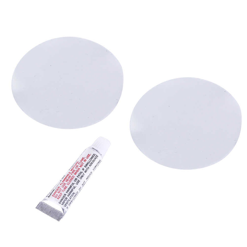 PVC Puncture Repair Glue with 2 PVC patch film For Inflatable Toy Swim Pool  Air Bed Convenient 1pc