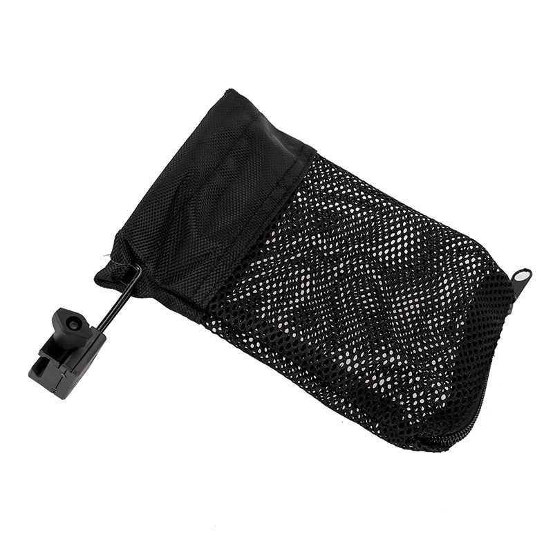 Hot! Hunting Tactical Pouches Quick Zipperd Ammo Brass Shell Catcher Nylon  Mesh Bag Capture 223 / 5 56 Hunting Accessories Th