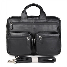 JMD Fashion Lawyer Leather Handbag Laptop Bag For Office Mens Briefcase 7231A