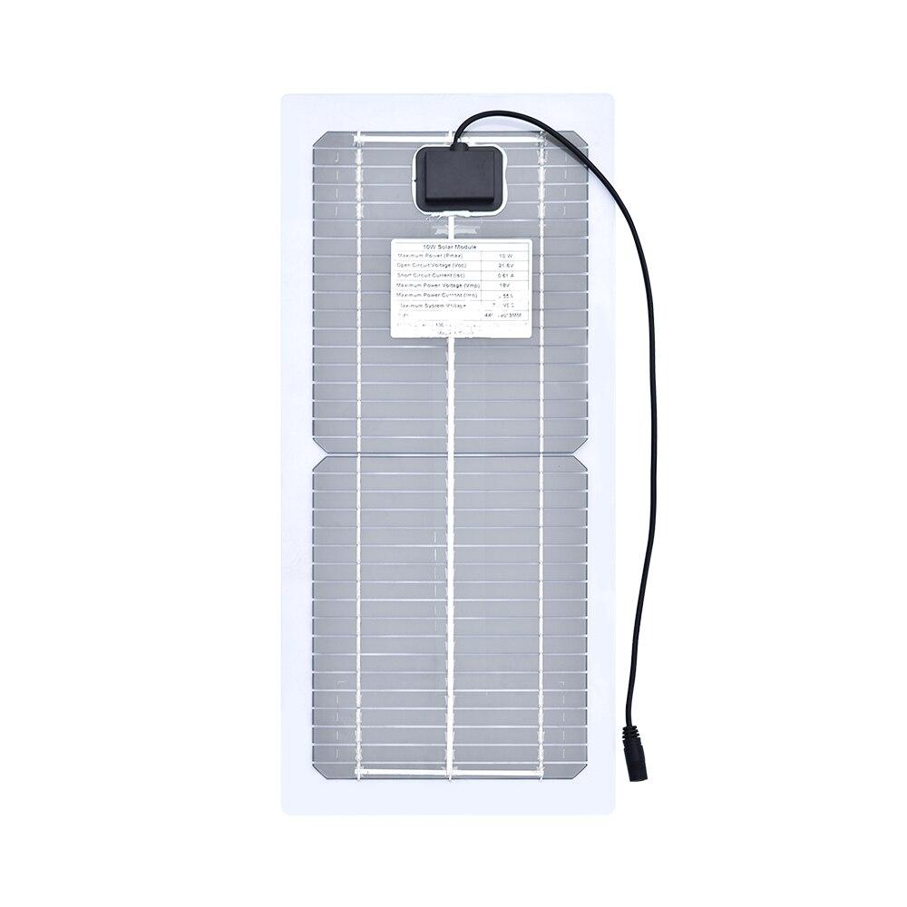 гибкие солнечные панели 18v 10w