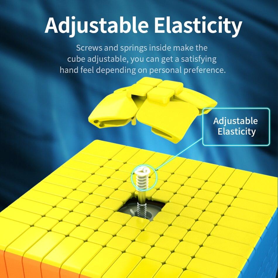 Moyu 10x10 CUBE Moyu Meilong 10x10x10 Cube magique 10 couches vitesse Cube professionnel Puzzle jouets pour enfants enfants cadeau jouet - 4