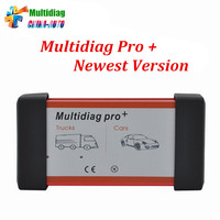 10pcs/lot Newest Design Multidiag Pro + 2014.R2 / 2015.R3 for Cars/Trucks and OBD2 Scanner tcs cdp pro plus diagnostic tool