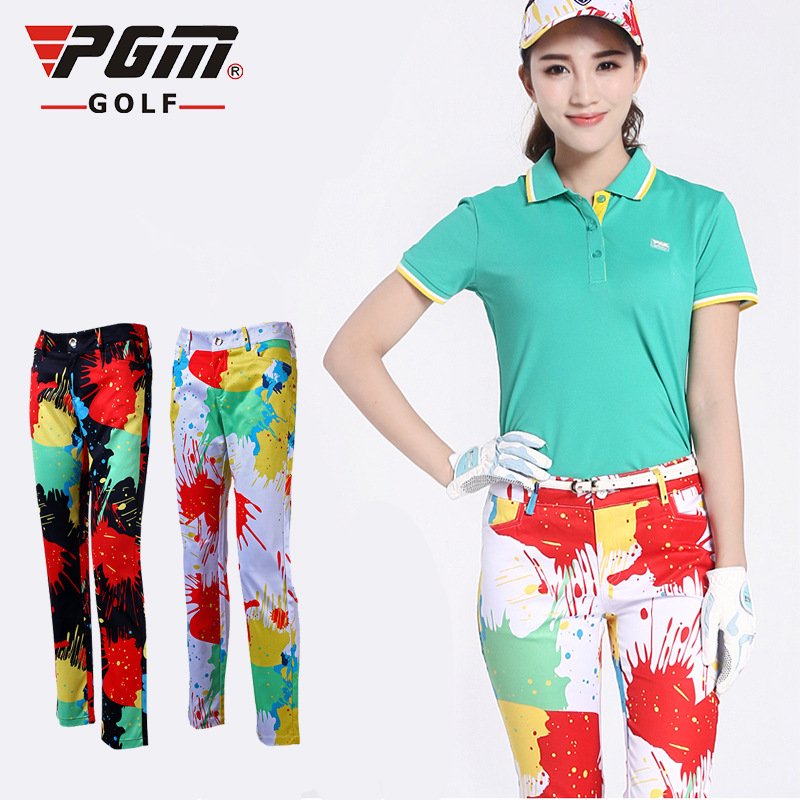 Aliexpress.com : Buy PGM Colorful Golf Pants For Women ...