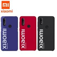 Orijinal Xiao mi redmi Not 7 Vaka ultra İnce PC mat arka kapak için Xiaomi mi mi redmi Note7 Not 7 Pro Şık kılıf kapak