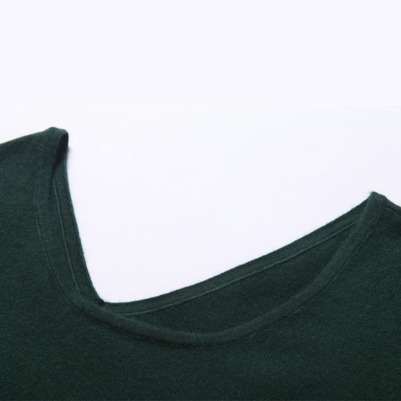 Adohon 2018 Fashion Wanita Dresses dan Pullover Sueter Femme Musim - Pakaian Wanita - Foto 3