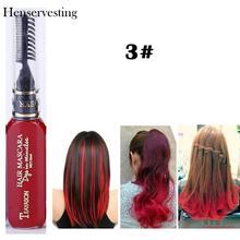 Новинка, 13 цветов, крем-краска для волос, выделяет один раз, временная краска для волос, крем унисекс, полосы для укладки волос, одноразовые краски для волос, мелки