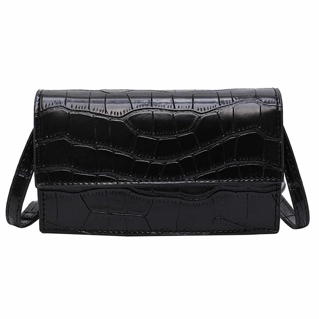 Feminino retro serpentine crossbody sacos mensageiro bolsa de ombro alça sacos #25