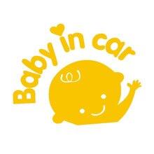 Фотография New CARPRIE 1PC Baby in Car Waving Safety Sign Car Decal Sticker Pattern Truck Side Sticker Fashion Waterproof  car sticker
