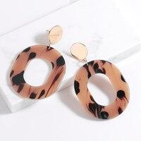 5189c11db710 Diseño de marca Brincos de carey aretes pendientes de resina acrílico gota pendientes  para mujer elegante