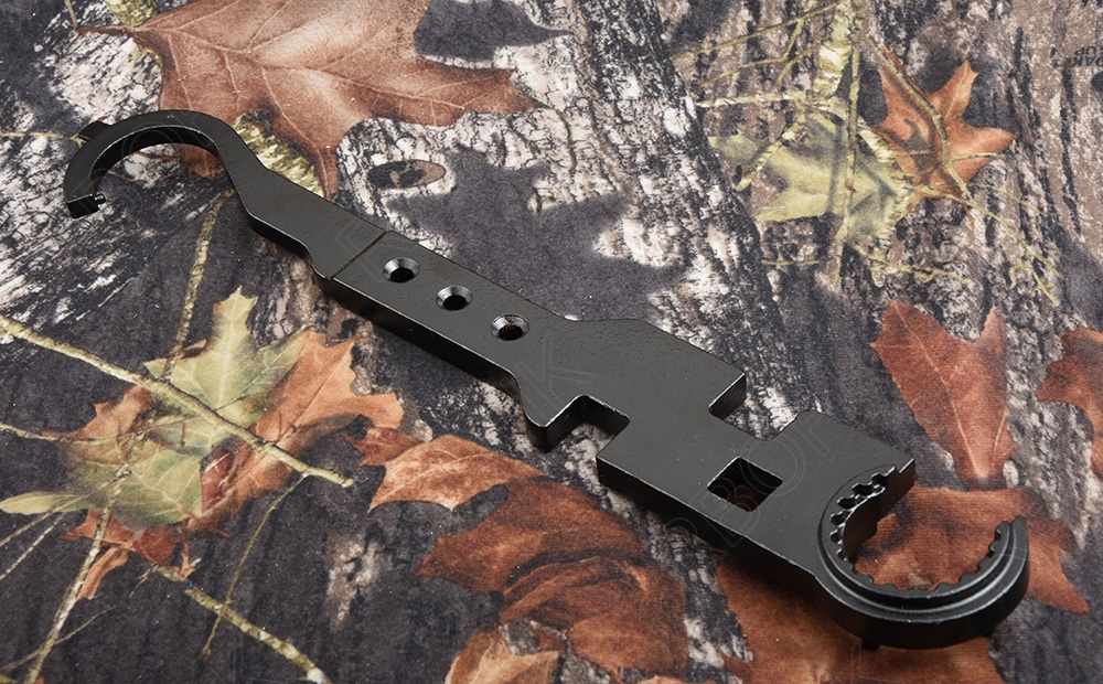 AR 15 picatinny rail handguard Disassembly and ar stock tool Steel wrench M9339(China)