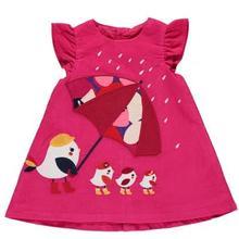 Платье для маленьких девочек, весенние модели для новорожденных девочек, вельветовое Хлопковое платье-майка с рукавами-крылышками