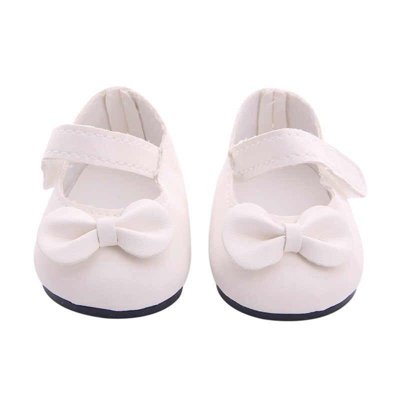 בובת בגדי Cartoon פרחוני קטן טרי כותנה שמלת עבור 18 אינץ אמריקאי & 43Cm תינוק חדש נולד בובת נעליים אביזרי ילדה של צעצוע