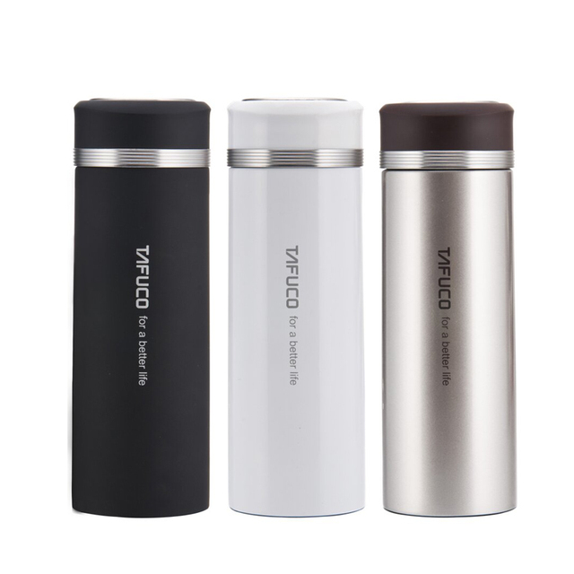 Japan Tafuco 400ml Stainless Steel Double Layer Vacuum