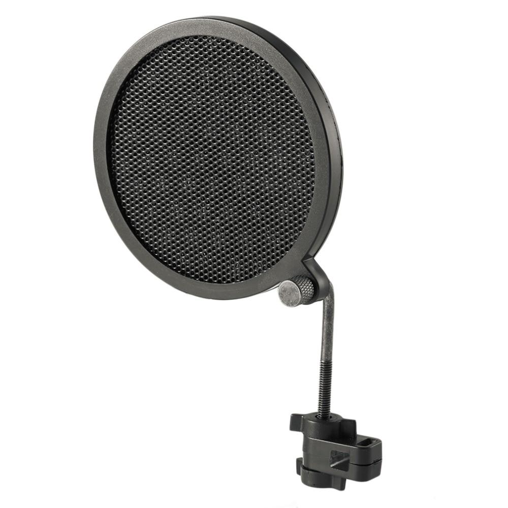 Ehrlich Ps-2 Doppel Schicht Studio Mikrofon Mic Windschutz Pop Filter/swivel Mount/maske Gescheut Für Sprechen Aufnahme Stehen