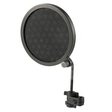 PS-2 Double Layer Studio Microphone Mic Wind Screen Pop Filter/ Swivel Mount / Mask Shied For Speaking Recording stand ps 2 double layer studio microphone mic wind screen pop filter swivel mount mask shied for speaking recording stand
