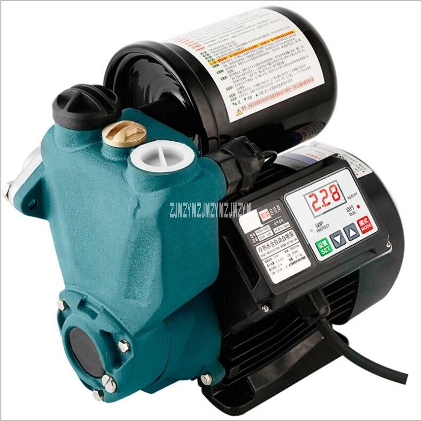 FUJ-WZB60 automatique pompe à eau contrôle numérique ménage auto-amorçage pompe automatique Booster pompe électrique pompe d'aspiration 220 V