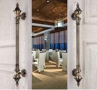 Premintehdw Europea Villa Hotel entrada puerta manija del Tirón con Tornillos