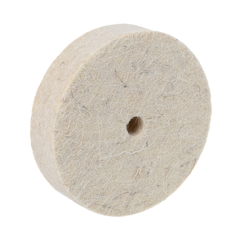 Image 3 - 76x20mm Wool Felt Polishing Buffing Grinding Wheel Polisher Disc Pad Rotary Tool-in Abrasive Tools from Tools