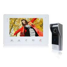 Homefong 7″  Video Intercom Doorbell Rainproof Door Phone Camera  for Home Security 1 Screen  1200 TVL Dual Communication
