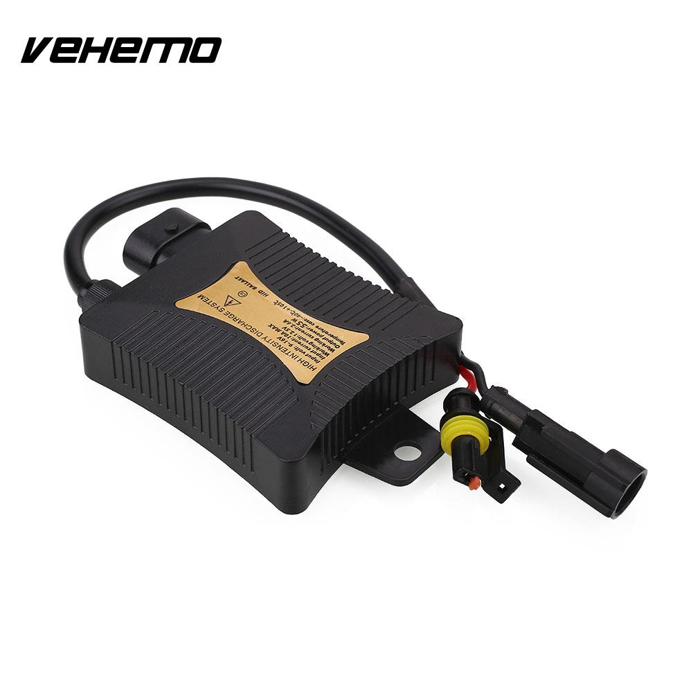 Vehemo Car Slim 12V 55W Replacement Conversion Xenon HID Ballast For H1 H3 H7 H11 New