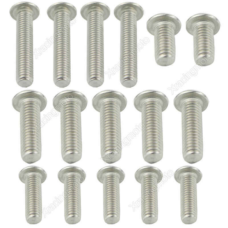 Complete Cowling Fairing Bolts Kit Fit For Kawasaki ZX14R ZZR 1400 2012-2019