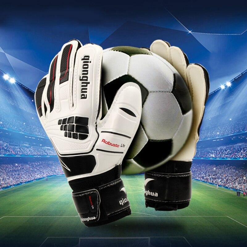 ขาย ผู้เล่นมืออาชีพผู้รักษาประตูถุงมือป้องกันการลื่นไถลถุงมือฟุตบอลขนาดถุงมือใส่ถุงมือ ราคาถูกที่สุด