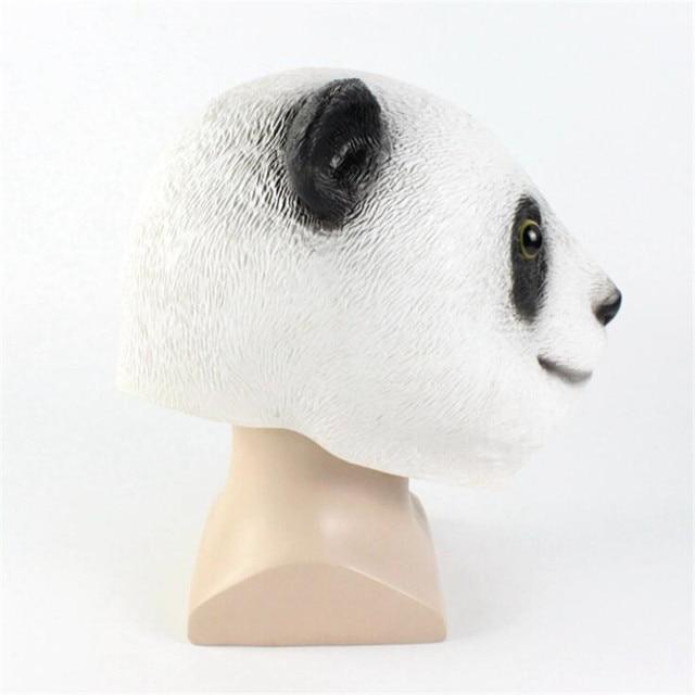Маска для хэллоуина панда 1