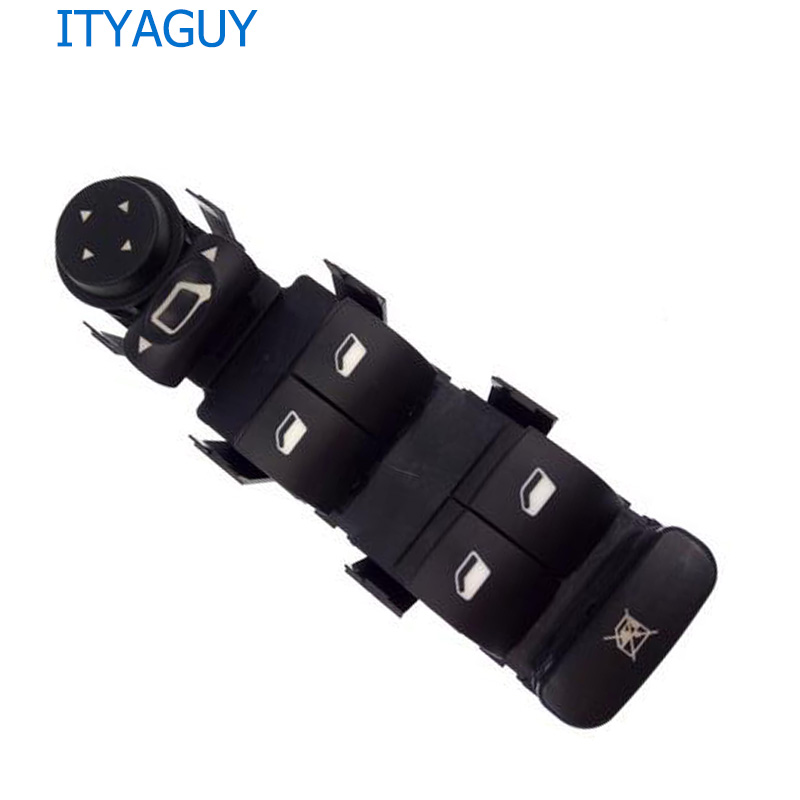 Front Left Master electric power window lifter control switch for Citroen C4 2004-2015 OEM No. 6554.HA 6554HA front left electric power window lifter master control switch for bmw 61319241915 6131 9241 915