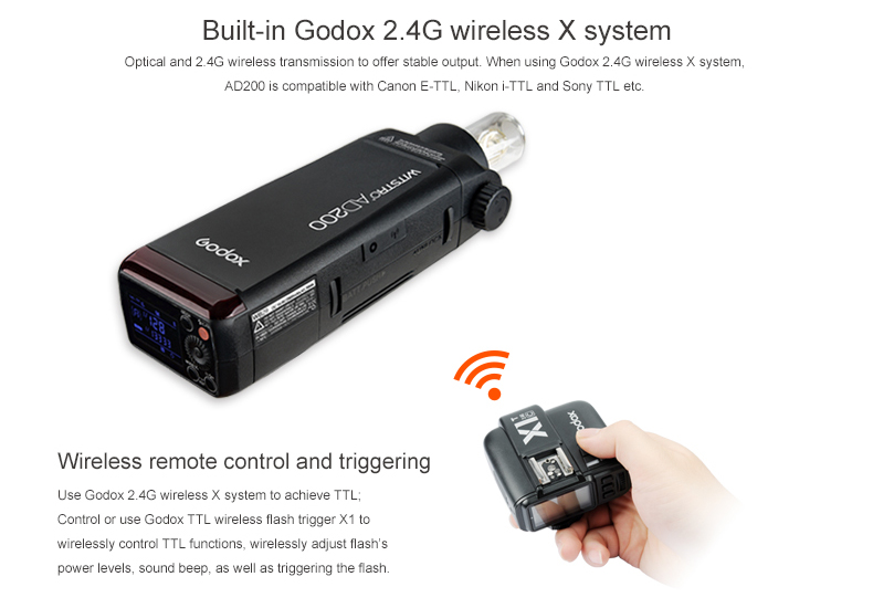 Godox Outdoor Flash Pocket Flash AD200 (4)