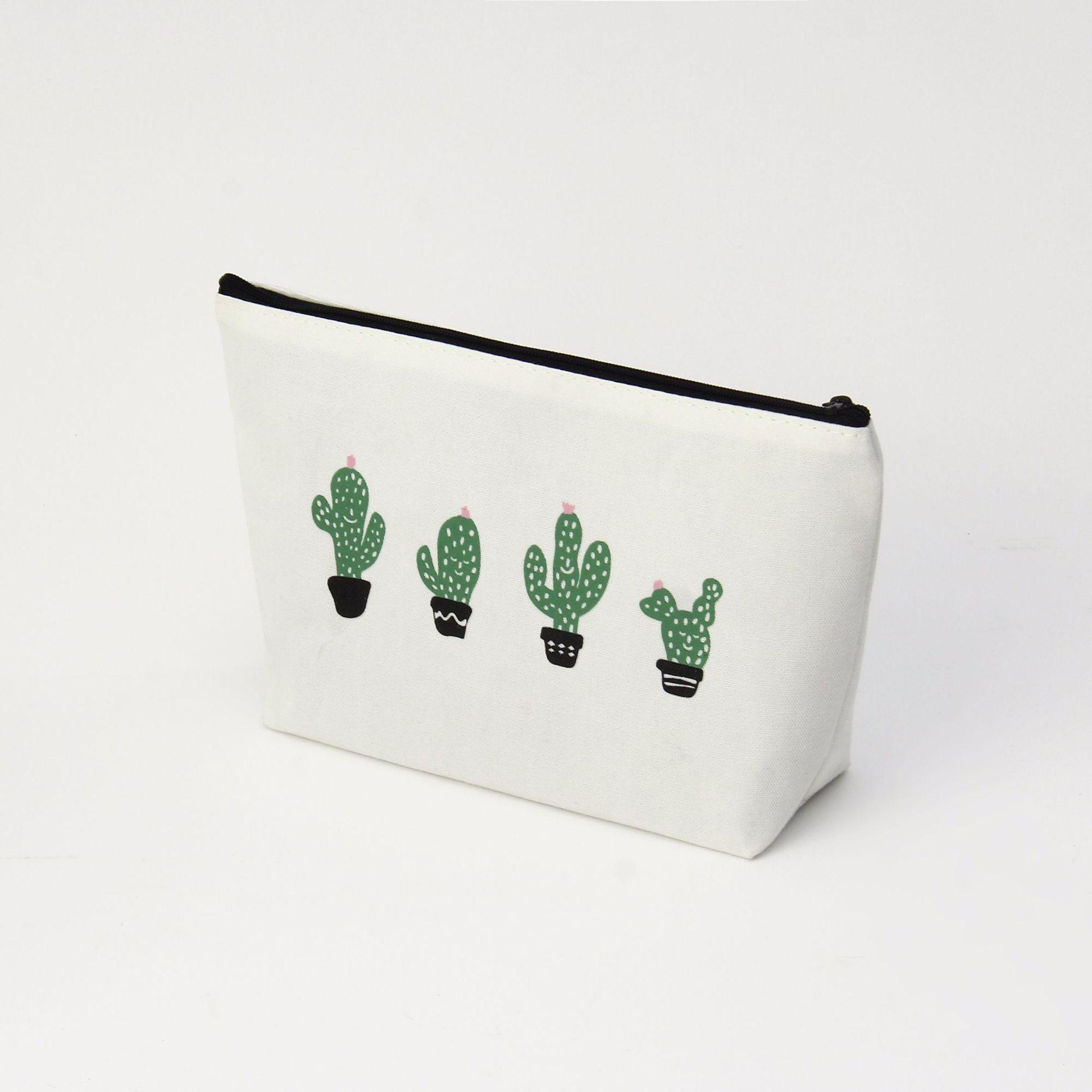 d381a65d5b91 Trendy Cactus Toiletry Pouch