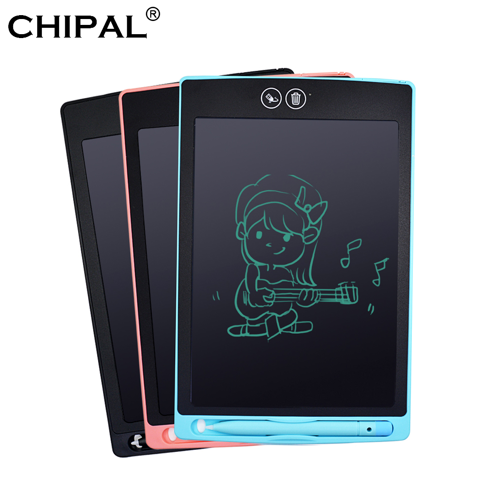 Digital Graphic Tablet A4 Drawing Pen Graphics Pad LCD Writing Tablet Notepad PC