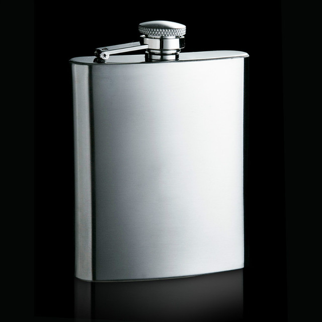7ounces (200ml) capacity stainless steel hip flasks portable carry-on wine bottle alcoholic drunkard hot style