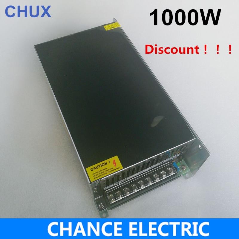 Power Supply12V 15V 24V 36V 48V 55V 60V 70V 80V 90V Switching Power Supply 1000W Led