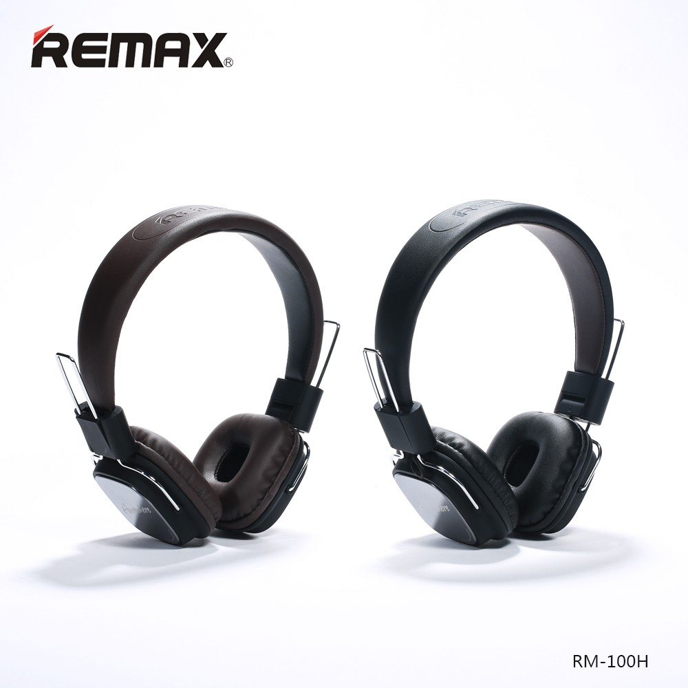 Original Remax wired Stereo noise cancelling headband Headphones Earphone with microphone HIFI earphone Foldable Handsfree Major