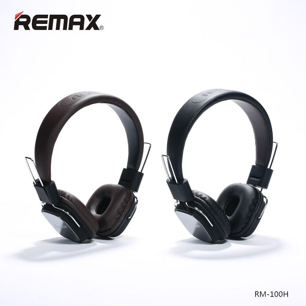 Original Remax wired Stereo noise cancelling headband Headphones Earphone with microphone HIFI earphone Foldable Handsfree Major