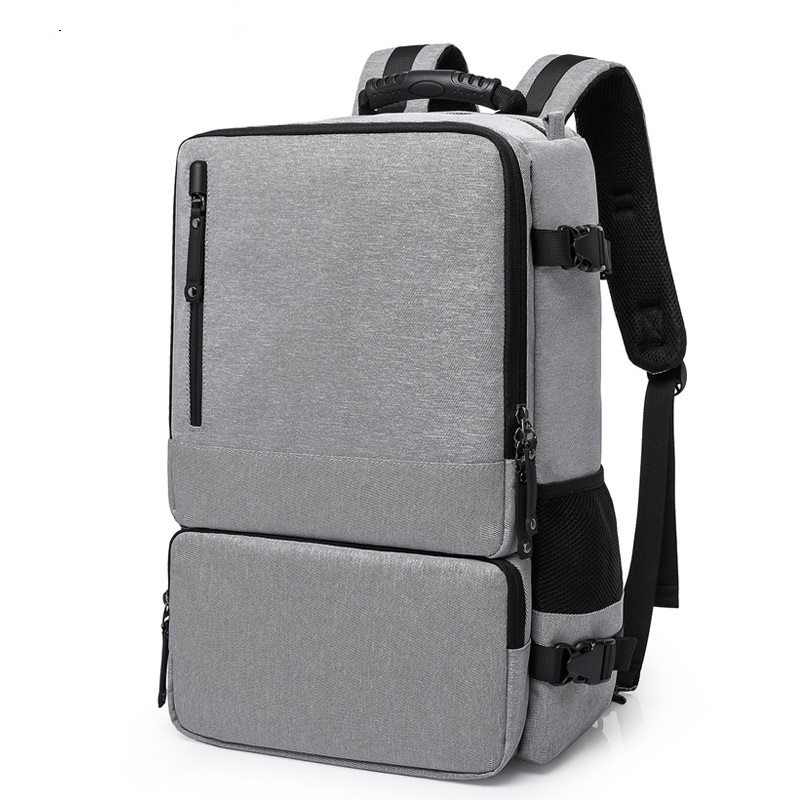 2255 New Fashion Men's Anti-theft backpack Multi-functional three Computer bag College Students Oxford Backpack