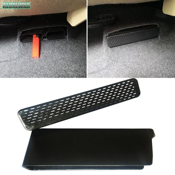 Car-styling Seat AC Heat Floor Air Conditioner Duct Vent Outlet Grille Cover 2018 Car Accessories for Toyota Camry XV70 Altis image