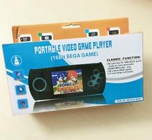 3.0 polegada LCD Crianças Brinquedo Jogo Handheld Jogador Portátil Do Jogo Console Jogos de Vídeo para Sega bulit em 100 jogos