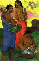 Maternite II 1899 by Paul Gauguin oil Painting Canvas High quality hand painted Art Reproduction