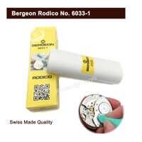 Limpiador en seco Bergeon Rodico 6033-1, piezas limpias, ruedas, herramienta de mano pivotante y elimina aceite, herramienta de reloj para relojero, joyeros