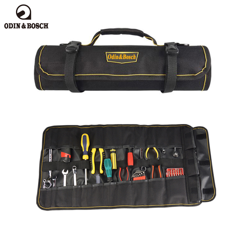 Odin&Bosch 600D High Density Oxford Cloth Tool rolling Bag with Water Proof 2018 NEW Multifunctional цена