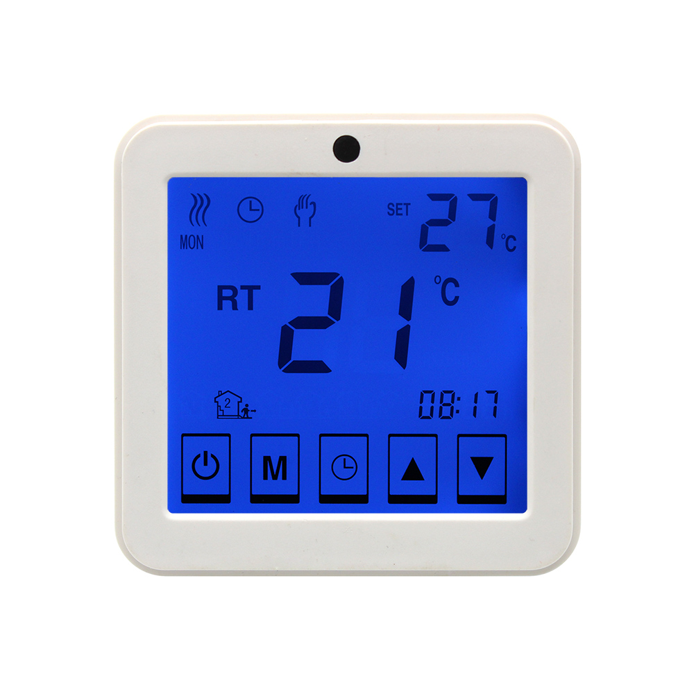 Electric Floor Heating Room Touch Screen Thermostat Warm Floor Heating System Thermoregulator Temperature Controller 220V 16A floor heating thermostat temperature control switch electric film thermostat electric geothermal uth 170r